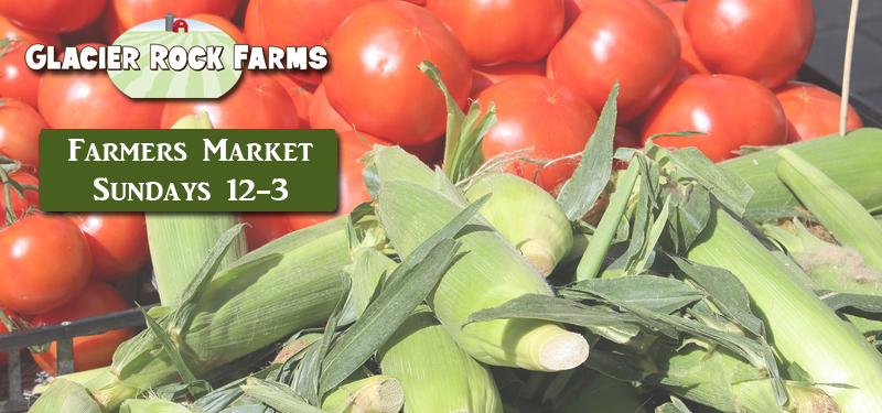 Farmers Market Sundays 12-3 Starting May 1st